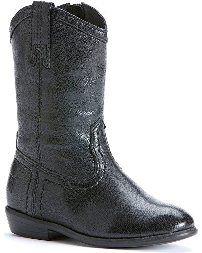 Frye Toddler-Girls' Carson Pull-On Boot Black US