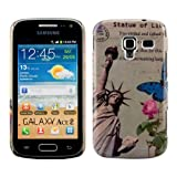 Kwmobile® Hard case City design (New York) for Samsung Galaxy Ace 2 i8160 in Beige