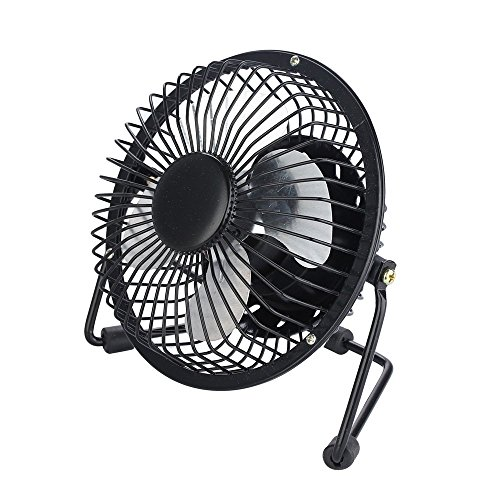Little Desk Fan : Small desk fan quiet hand held mini personal usb