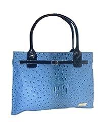 AB Fashion Hand-held Bag (Blue-01)