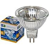 10 LONG LIFE MR16 20w Halogen Bulbs GU5.3 Lamp 12v Halogen with Aluminium Reflector