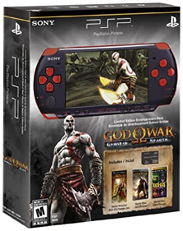 PSP God of War: Ghost of Sparta Entertainment Pack