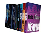 Jeffery deaver collection 9 Books set. (Hell's Kitchen, Bloody river blues, Shallow graves, twisted, speaking in tongues, the empty chair, a maiden's grave, Edge &amp; the burning wire)