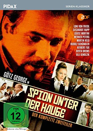 Spion unter der Haube / Der komplette 2-Teiler mit Götz George und weiterer Starbesetzung (Pidax Serien-Klassiker)