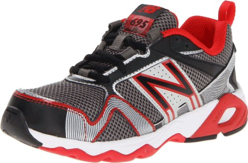 New Balance Kj695 Running Shoe (Little Kid/Big Kid),Red/Black,3 M Us Little Kid front-1007114