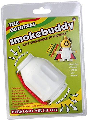 Smoke Buddy 0159-WHT Personal Air Filter, White (Smokebuddy Jr Personal Air Filter compare prices)