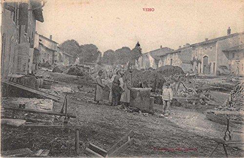 veho-france-street-scene-antique-postcard-j50292