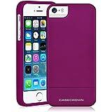 iPhone 5 \ 5s Case, CaseCrown Lux Glider Case (Purple Amethyst)