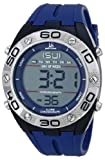 Joshua & Sons Men's JS66BU Blue Digital Watch