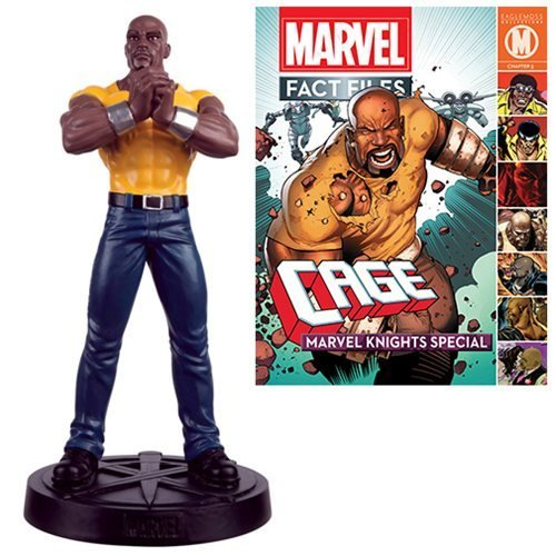 Marvel Fact Files Special #21 Luke Cage Statue with Collector Magazine (Luke Cage Action Figure compare prices)