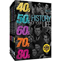 History of Your Life - The Decades Collection - 40s-80s