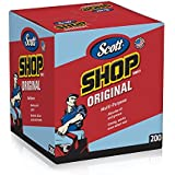 Kimberly-Clark Scott Shop Towels Pop-Up Box, Blue