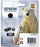 Epson T2601 Tintenpatrone Eisbär, Singlepack, schwarz