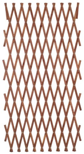 Gardman 1.8 x 1.2m/ 6 x 4ft Brass Pinned Garden Trellis - Tan