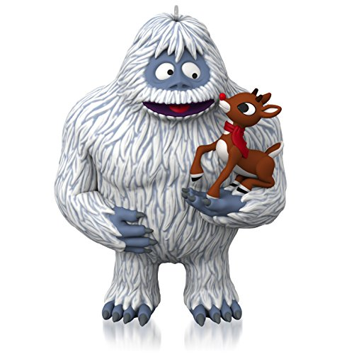 Hallmark Rudolph the Red-Nosed Reindeer and the Abominable Snow Monster Ornament
