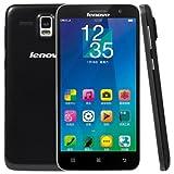 Lenovo A8 / A806 16GB SIMフリー スマートフォン , Network: 4G LTE , 5.0 Inch スクリーン , Android 4.4 MTK6592 + MTK6290 Octa Core 1.7GHz , RAM: 2GB , ブラック [並行輸入品]