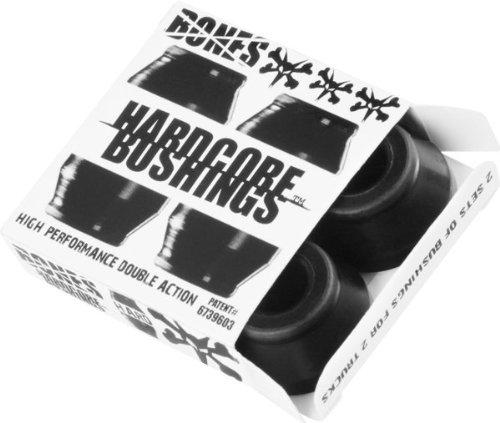Bones Hardcore 4pc Hard Black Black Bushings Skateboard Bushings (Bushings Skateboard compare prices)