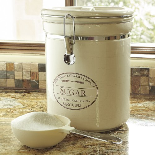CHEFS Fresh Valley Farm Canisters: sugar (Chefs Stoneware Canisters compare prices)