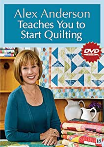 Alex anderson teaches you to start quilting dvd amazon for Alex co amazon