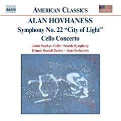 Symphony 22: City of Light / Cto Cello & Orchestra