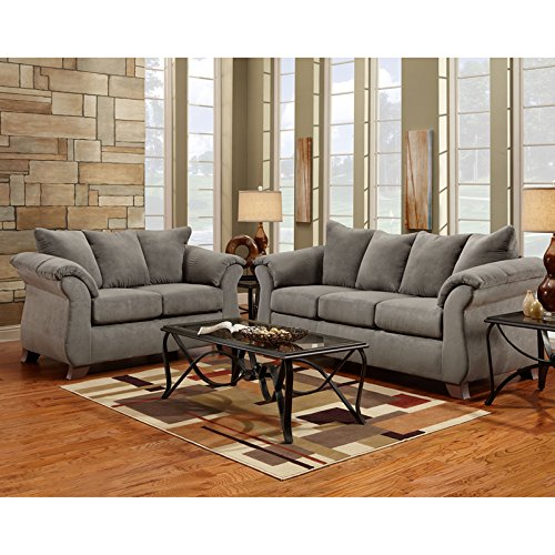 Flash furniture exceptional designs microfiber living room - Microfiber living room furniture sets ...