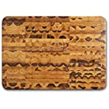 "Proteak Rectangular Cutting Board, 20"" x 14"" x 2-1/2"" End Grain with Bowl Cut Out #601"