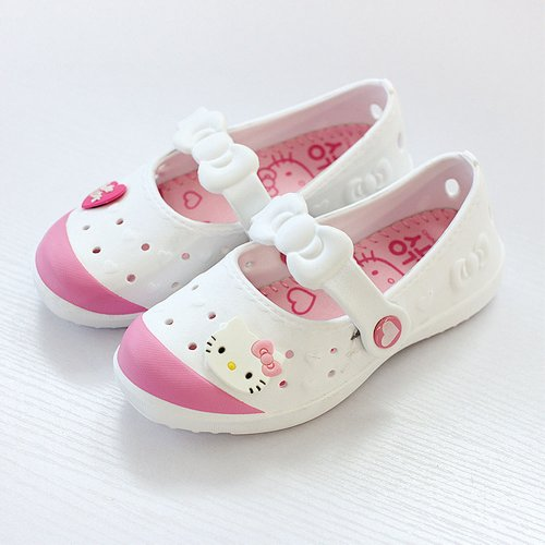 Hello Kitty white Bony Kids sandals Shoes for Girls boy infant