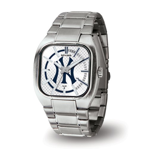 Mlb New York Yankees Turbo Watch, Silver