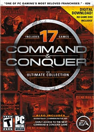 Command and Conquer The Ultimate Collection [Online Game Code]