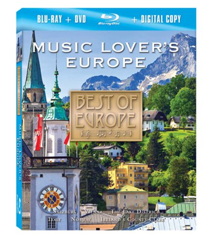 Best of Europe: Music Lover's Europe (Blu-ray/DVD Combo)
