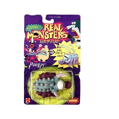 Real Monsters Poomps Action Figure - 1
