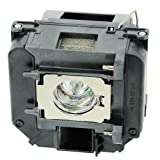 AWO-LAMPS Replacement Bulb ELPLP64 / V13H010L64 for EPSON PowerLite 1850W/1880/935W/D6155W/D6250;EPSON VS350W/VS410;EPSON EB-1840W/1850W/1860/1870/1880/D6155W/D6250.