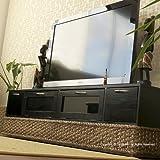 アジアン家具 ウォーターヒヤシンスTV台  R699AT  幅155cm ~52型地デジ 液晶 プラズマ テレビ対応ローボード チークローボード