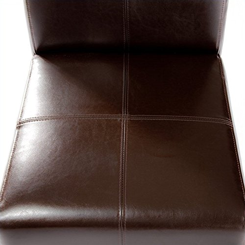 Noble House Anthony Dining Chairs in Chocolate Brown (Set of 2) teak house стол консольный britt