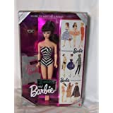 Barbie 35th Anniversary Doll Special Edition Reproduction Of Original 1959 Barbie Doll & Package! - Brunette Hair...