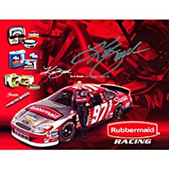 Kurt Busch Autographed Signed 8x10 Photo by Hollywood Collectibles
