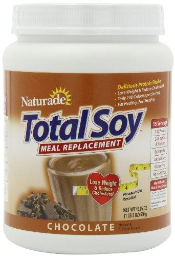Supplément de remplacement Naturade totale de farine de soja, chocolat, 19.05 once