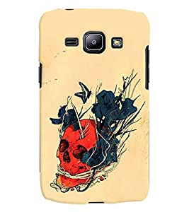 GADGET LOOKS PRINTED BACK COVER FOR SAMSUNG GALAXY J3 MULTICOLOUR