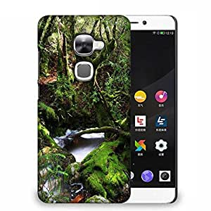 Snoogg Green Trees Designer Protective Phone Back Case Cover For Samsung Galaxy J1