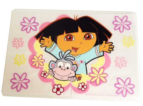 Dora the Explorer and Boots Plastic Placemat Place Mat (Set of 3)