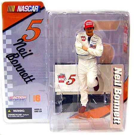 Mcfarlane NASCAR Neil Bonnett Figure Series 6