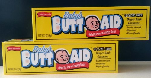 2 PACK-2 OZ. BABY BUTT DIAPER RASH OINTMENT - 1