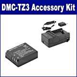 Panasonic Lumix DMC-TZ3 Digital Camera Accessory Kit includes: SDCGAS007 Battery, SDM-177 Charger
