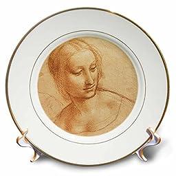 Leonardo Da Vinci - Madonna - 8 inch Porcelain Plate (cp_5318_1)