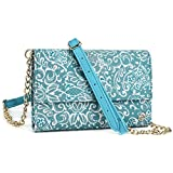 Mint Green Paisley Weekender Crossbody Bag For QMobile Noir Z5 Z6 Z7 Z8 Z8 Plus Z9, M300, QMobile Linq L15 L10 | Cases and Covers