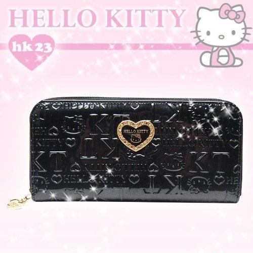 Hello Kitty Kawaii Long Wallet Black