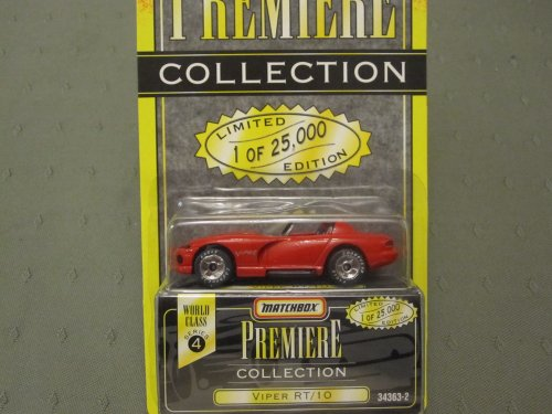 Dodge Viper RT/10 (Red) Matchbox Premiere Series 4 #34363-2 (Champion Premiere 2 compare prices)