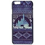 JIAXIUFEN Forever Young Disney Inspired Slim Hard Plastic Case Cover For Apple Iphone 6 Skin Protector Accessory