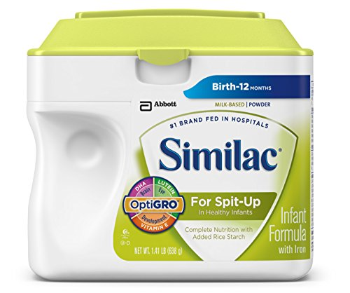 Similac For Spit-Up Infant Formula with Iron, Powder, 1.41 LB
