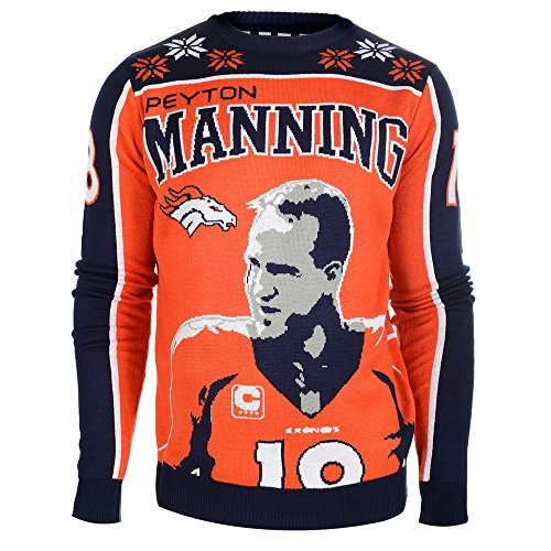 Manning P. #18 NFL Ugly Sweater